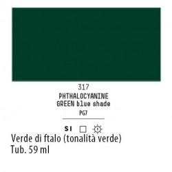 317 - Liquitex Heavy Body Verde di ftalo (tonalita verde)