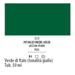 319 - Liquitex Heavy Body Verde di ftalo (tonalita giallo)