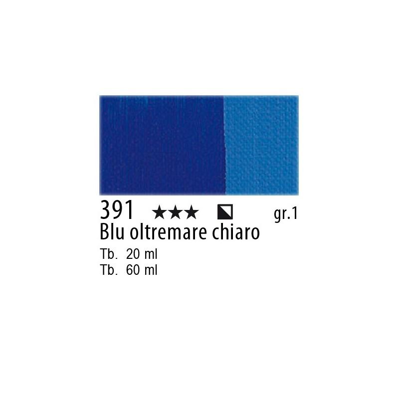 391 - Maimeri Olio Classico Blu oltremare chiaro