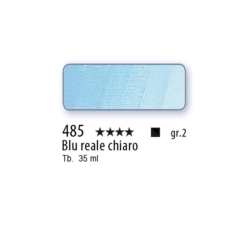 485 - Mussini blu reale chiaro