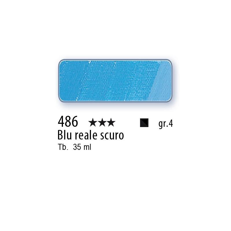486 - Mussini blu reale scuro