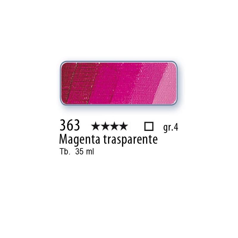363 - Mussini magenta trasparente
