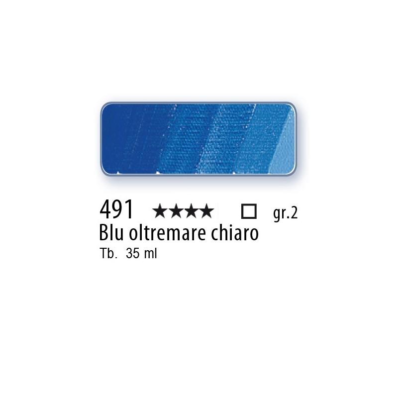491 - Mussini blu oltremare chiaro