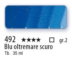 492 - Mussini blu oltremare scuro