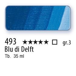 493 - Mussini blu di Delft