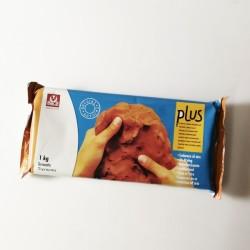 Pasta per modellare PLUS rosso che indurisce all'aria