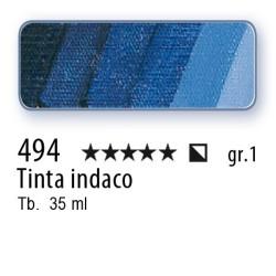 494 - Mussini tinta indaco