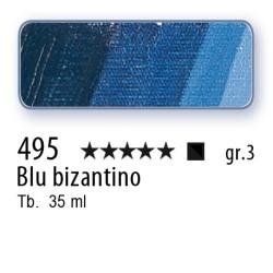 495 - Mussini blu bizantino