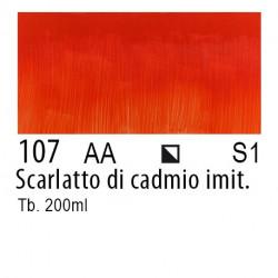 107 - W&N Olio Winton Scarlatto di cadmio imit.