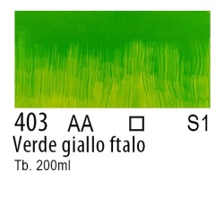 403 - W&N Olio Winton Verde giallo ftalo