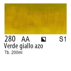 280 - W&N Olio Winton Verde giallo azo