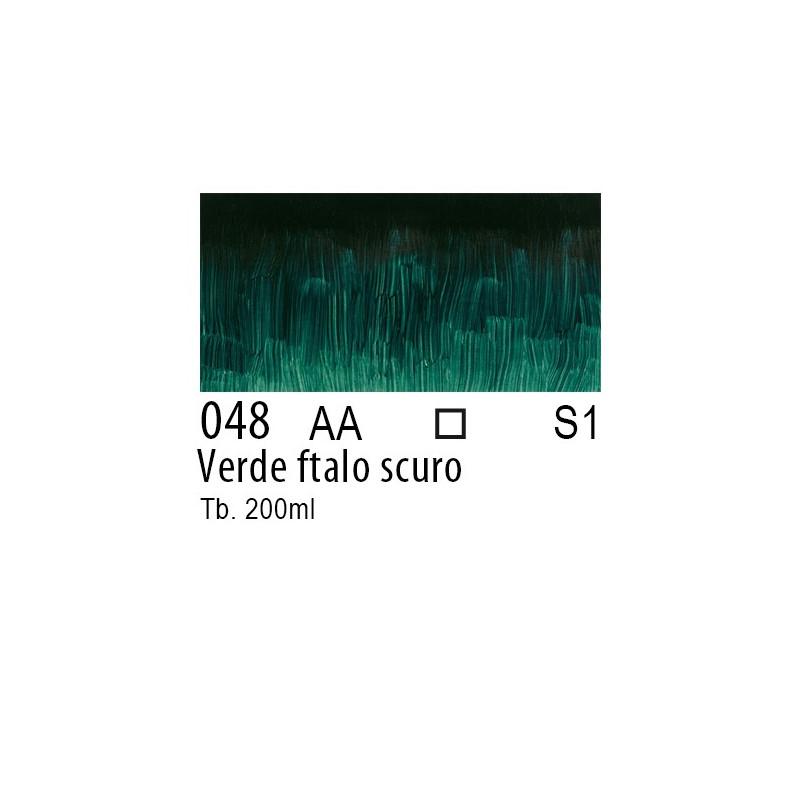 048 - W&N Olio Winton Verde ftalo scuro