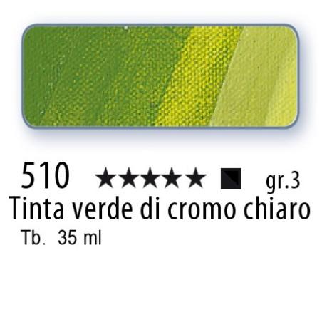 510 - Mussini tinta verde di cromo chiaro
