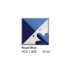 672 - Engobbio Colorobbia Royal Blue