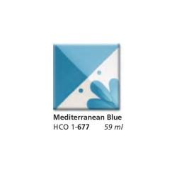 677 - Engobbio Colorobbia Mediterranean Blue