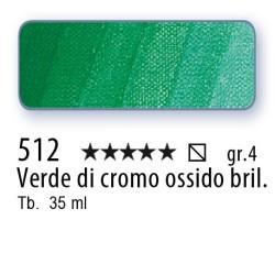512 - Mussini verde di cromo ossido brill.