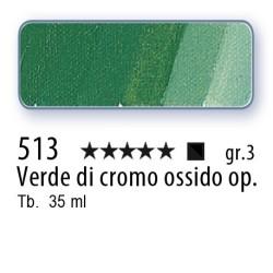 513 - Mussini verde di cromo ossido opaco