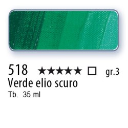 518 - Mussini verde elio scuro