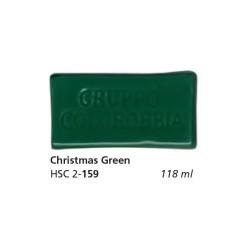 159 - Colorobbia Smalto Christmas green