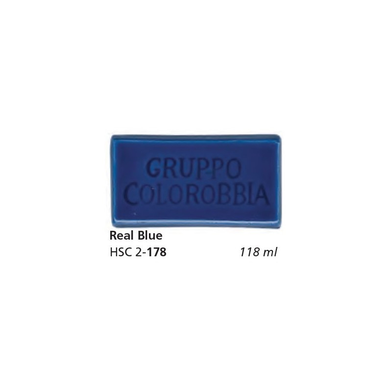 178 - Colorobbia Smalto Real blue