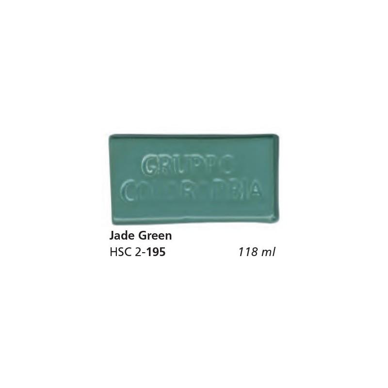 195 - Colorobbia Smalto Jade green