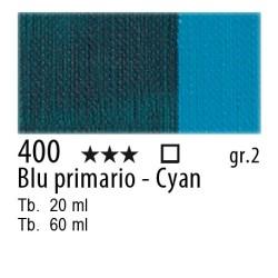 400 - Maimeri Olio Classico Blu primario - Cyan