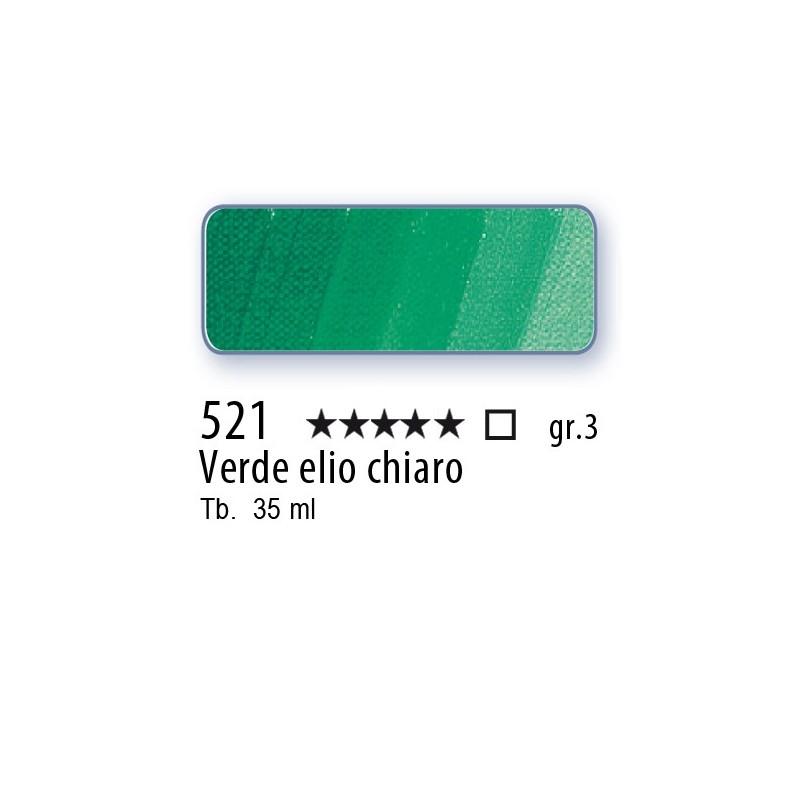 521 - Mussini verde elio chiaro
