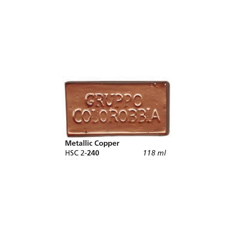 240 - Colorobbia Smalto Metallic copper