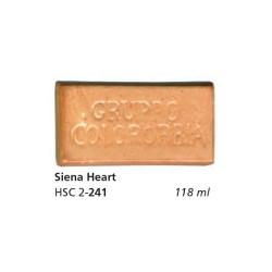 241 - Colorobbia Smalto Siena heart
