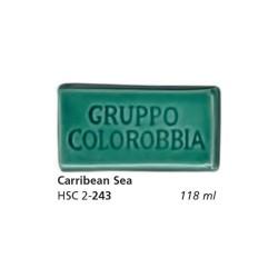243 - Colorobbia Smalto Carribean sea