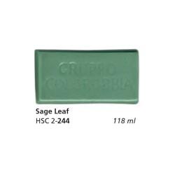 244 - Colorobbia Smalto Sage leaf