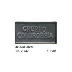 247 - Colorobbia Smalto Oxided silver