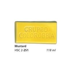 251 - Colorobbia Smalto Mustard