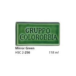 256 - Colorobbia Smalto Mirror green