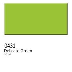 431 -  Colorobbia colore Sottocristallina Delicate Green