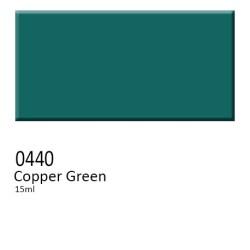 440 -  Colorobbia colore Sottocristallina Copper Green