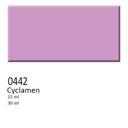 442 -  Colorobbia colore Sottocristallina Cyclamen