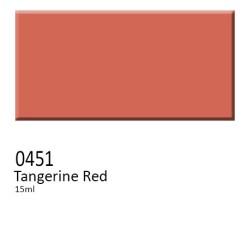 451 -  Colorobbia colore Sottocristallina Tangerine Red