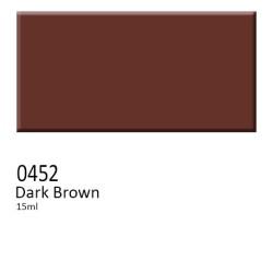 452 -  Colorobbia colore Sottocristallina Dark Brown