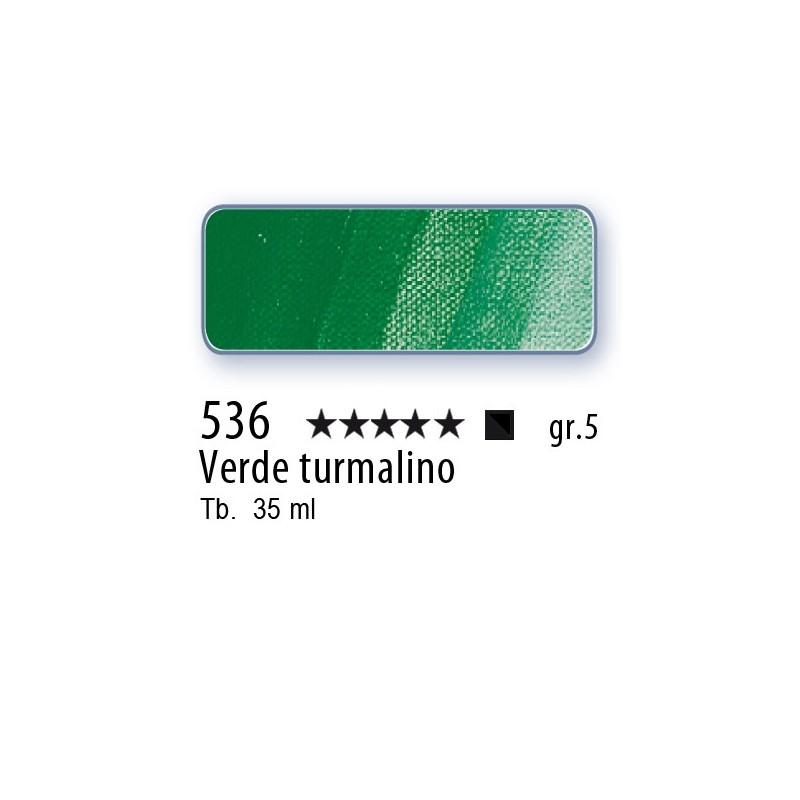 536 - Mussini verde turmalino