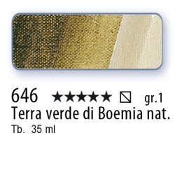 646 - Mussini terra verde di boemia nat.