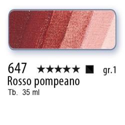 647 - Mussini rosso pompeano