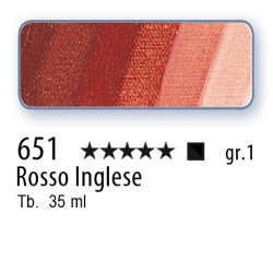 651 - Mussini rosso inglese