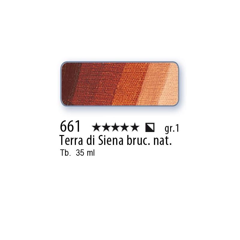 661 - Mussini terra di Siena bruciata nat.