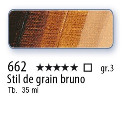 662 - Mussini stil de grain bruno