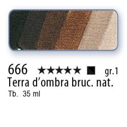 666 - Mussini terra d'ombra bruciata nat.