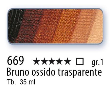 669 - Mussini bruno ossido trasparente