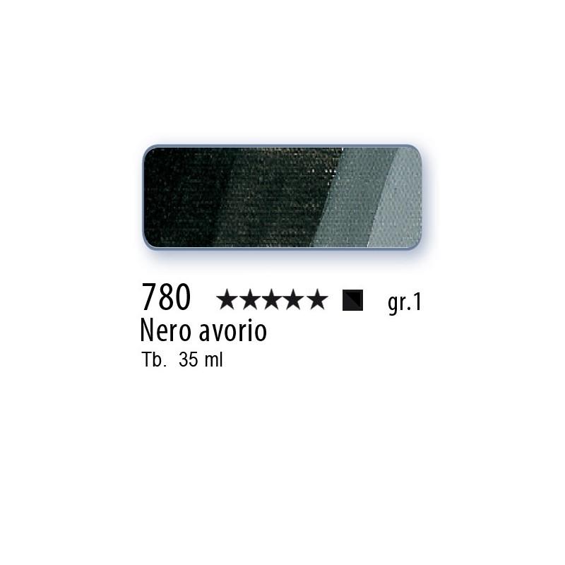 780 - Mussini nero avorio