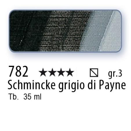 782 - Mussini Schmincke grigio di Payne