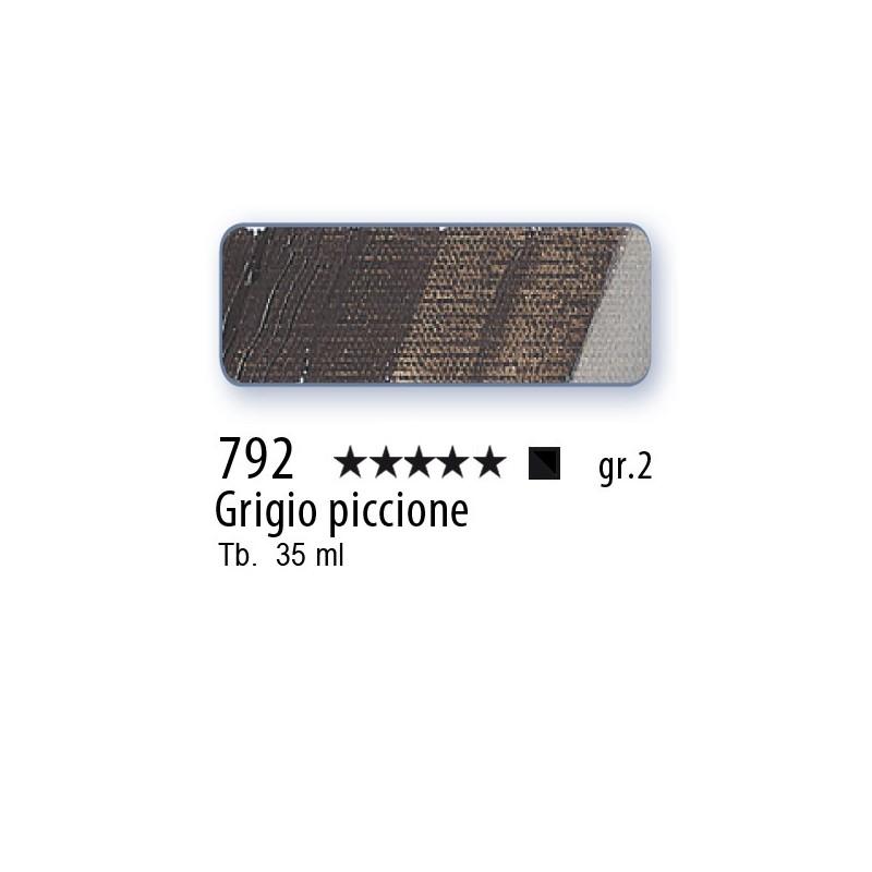 792 - Mussini grigio piccione